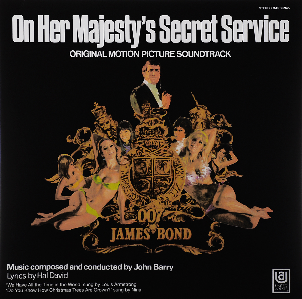 On Her Majesty's Secret Service. Original Motion Picture Soundtrack (LP) taft william nelson on secret service
