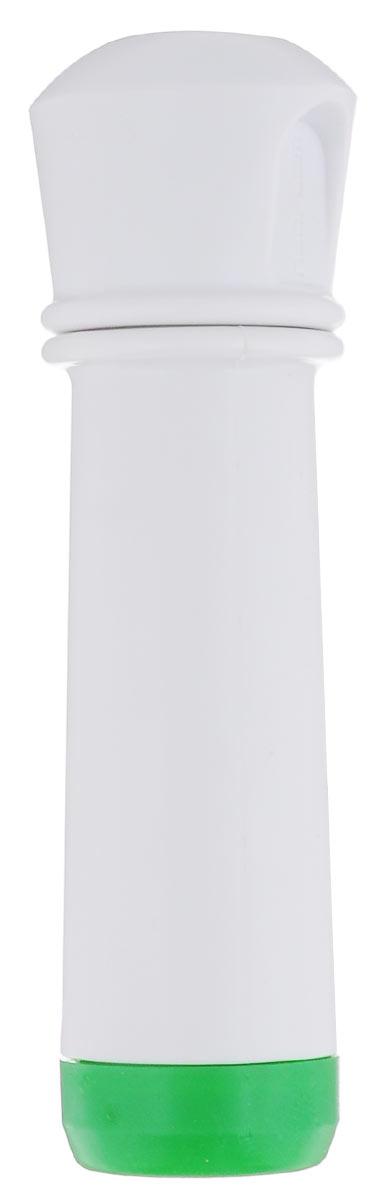 """Насос вакуумный для контейнеров """"Microban"""", цвет: белый, зеленый"""