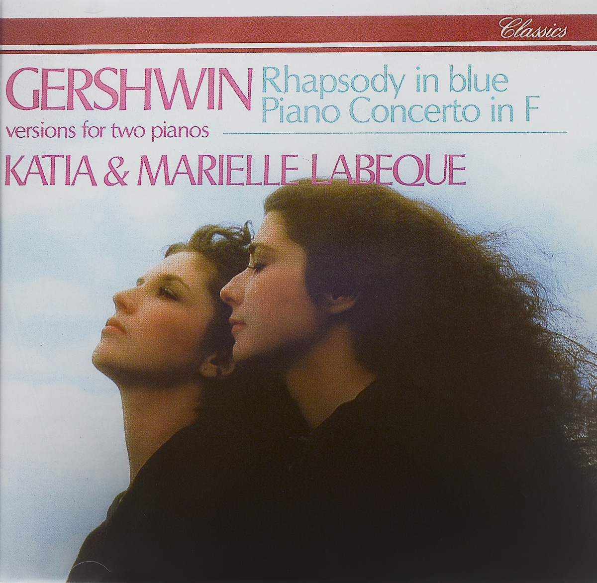 Катя Лабекю,Мариэль Лабекю Katia & Marielle Labeque. Gershwin. Rhapsody In Blue / Piano Concerto In F орион вайс buffalo philharmonic orchestra джоанн фаллета gershwin concerto in f rhapsody no 2 blu ray audio