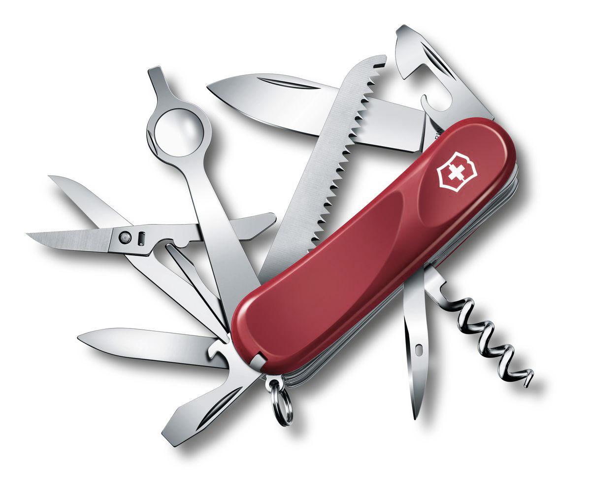 """Нож перочинный Victorinox """"Evolution 23"""", цвет: красный, 17 функций, 8,5 см"""