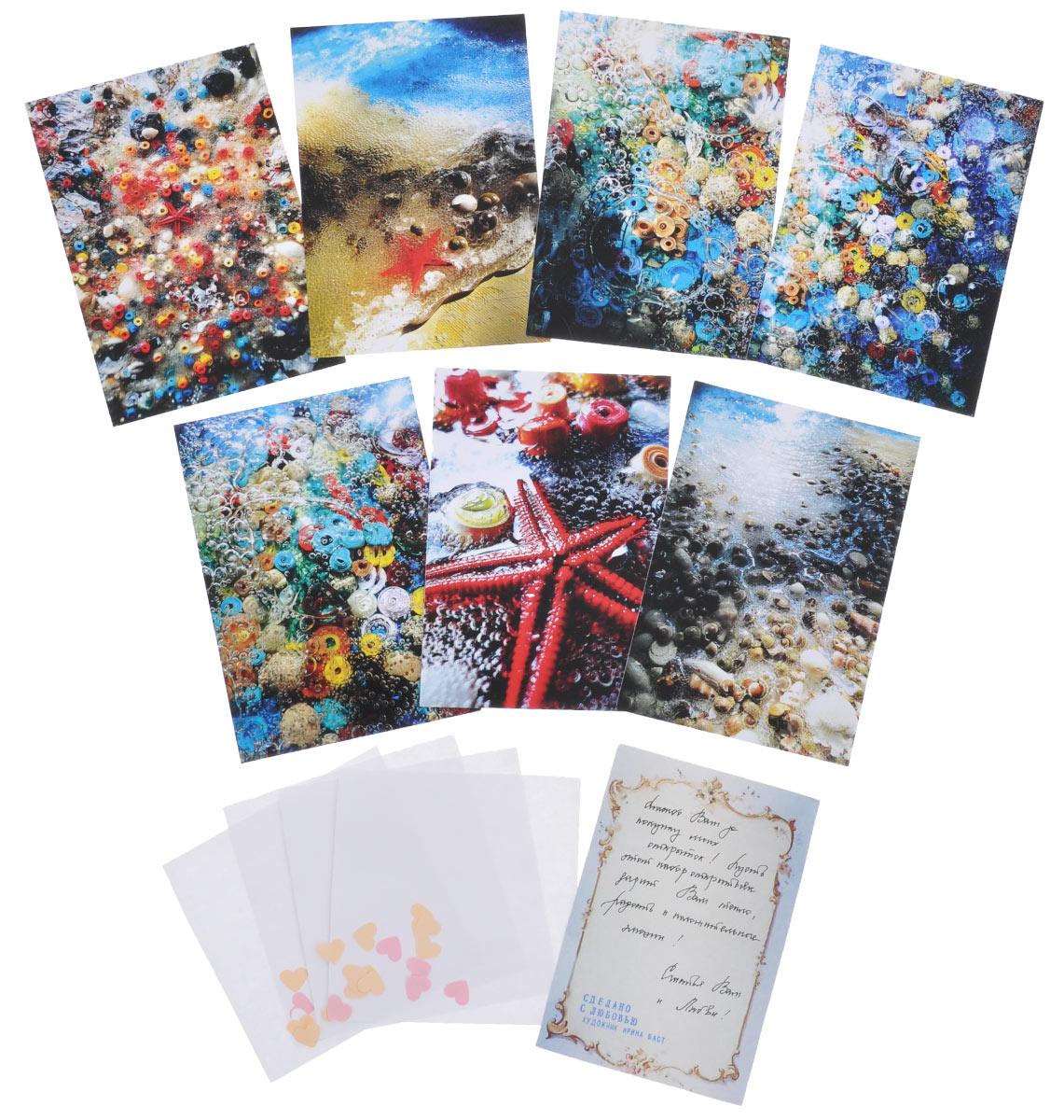 Винни пух, почтовая открытка набор