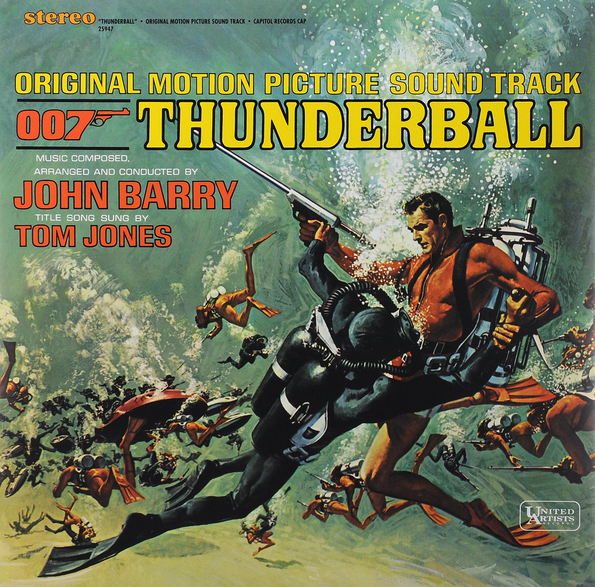 Thunderball. Original Motion Picture Sound Track (LP)