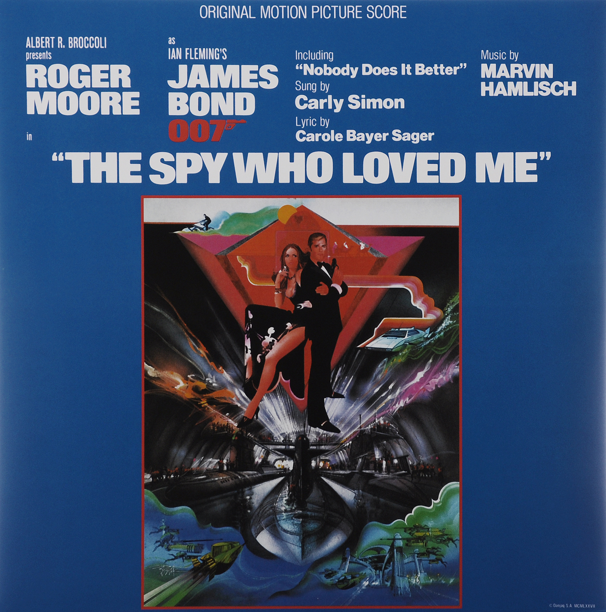 The Spy Who Loved Me. Original Motion Picture Score (LP) the spy who loved me