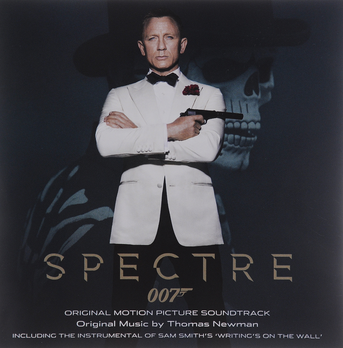 Spectre. Original Motion Picture Soundtrack. Music By Thomas Newman