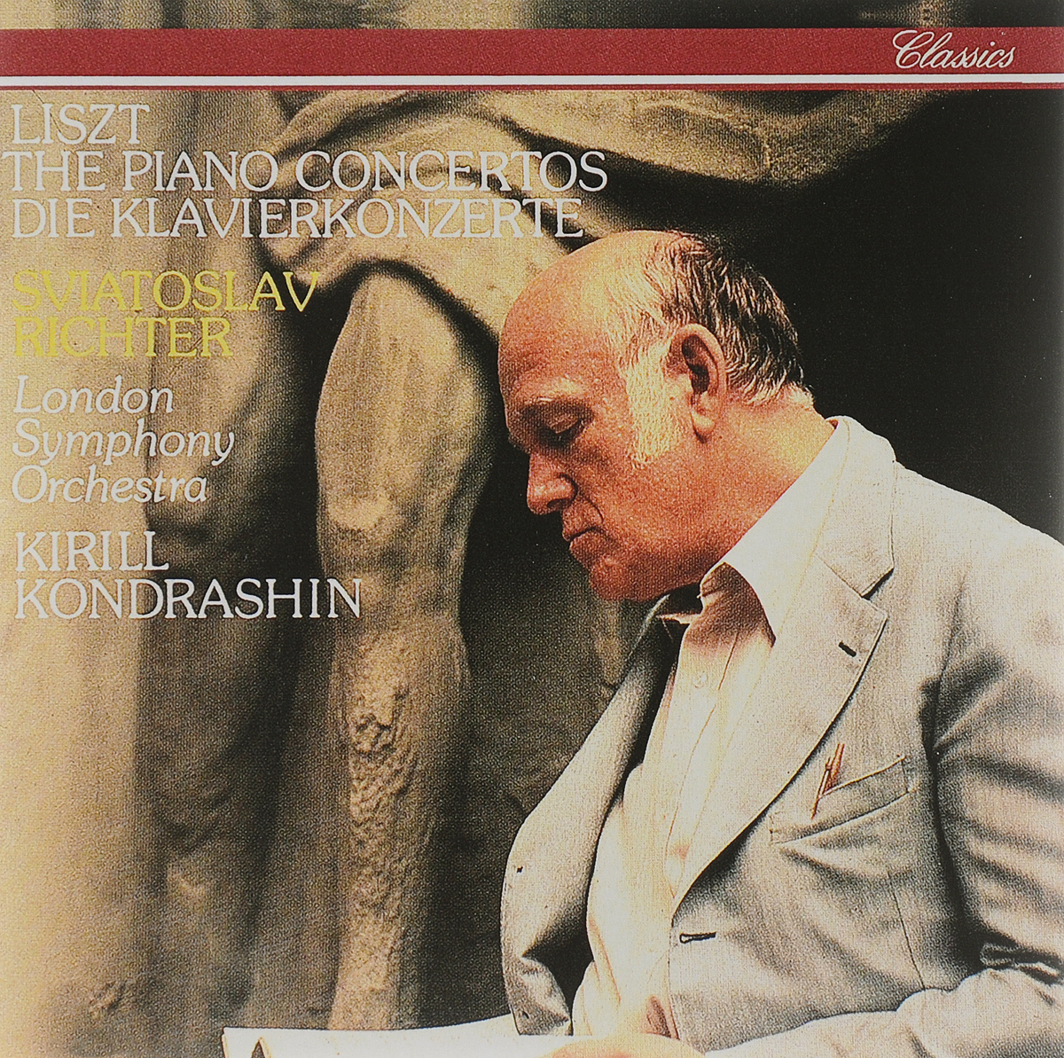 Святослав Рихтер,The London Symphony Orchestra,Кирилл Кондрашин Sviatoslav Richter. Liszt. The Piano Concertos цены онлайн