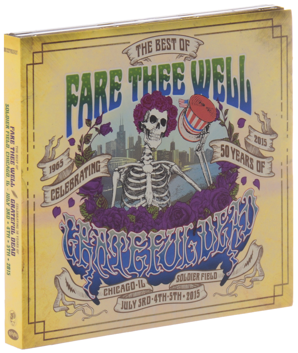 The Grateful Dead Grateful Dead. Fare Thee Well Celebrating 50 Years Of Grateful Dead (2 CD) seun odumbo a grateful heart