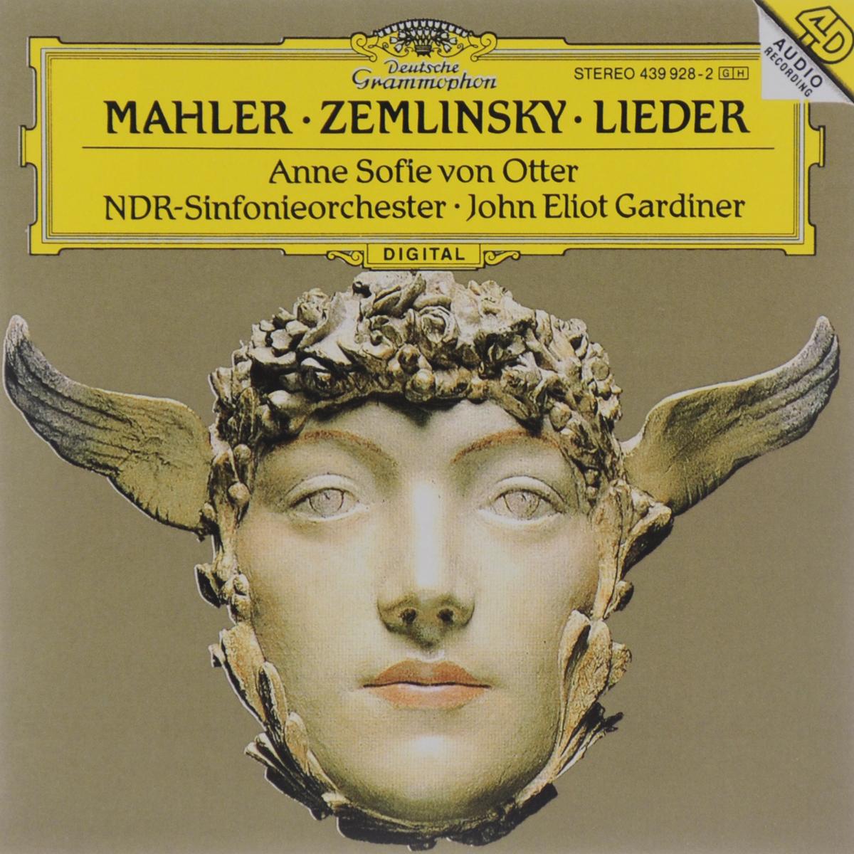 Анн Софи фон Оттер,NDR-Sinfonieorchester Hamburg,Джон Элиот Гардинер Anne Sofie Von Otter. Mahler / Zemlinsky. Lieder цена и фото