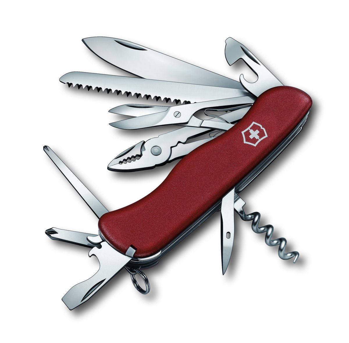 """Нож перочинный Victorinox """"Hercules"""", цвет: красный, 18 функций, 11,1 см"""
