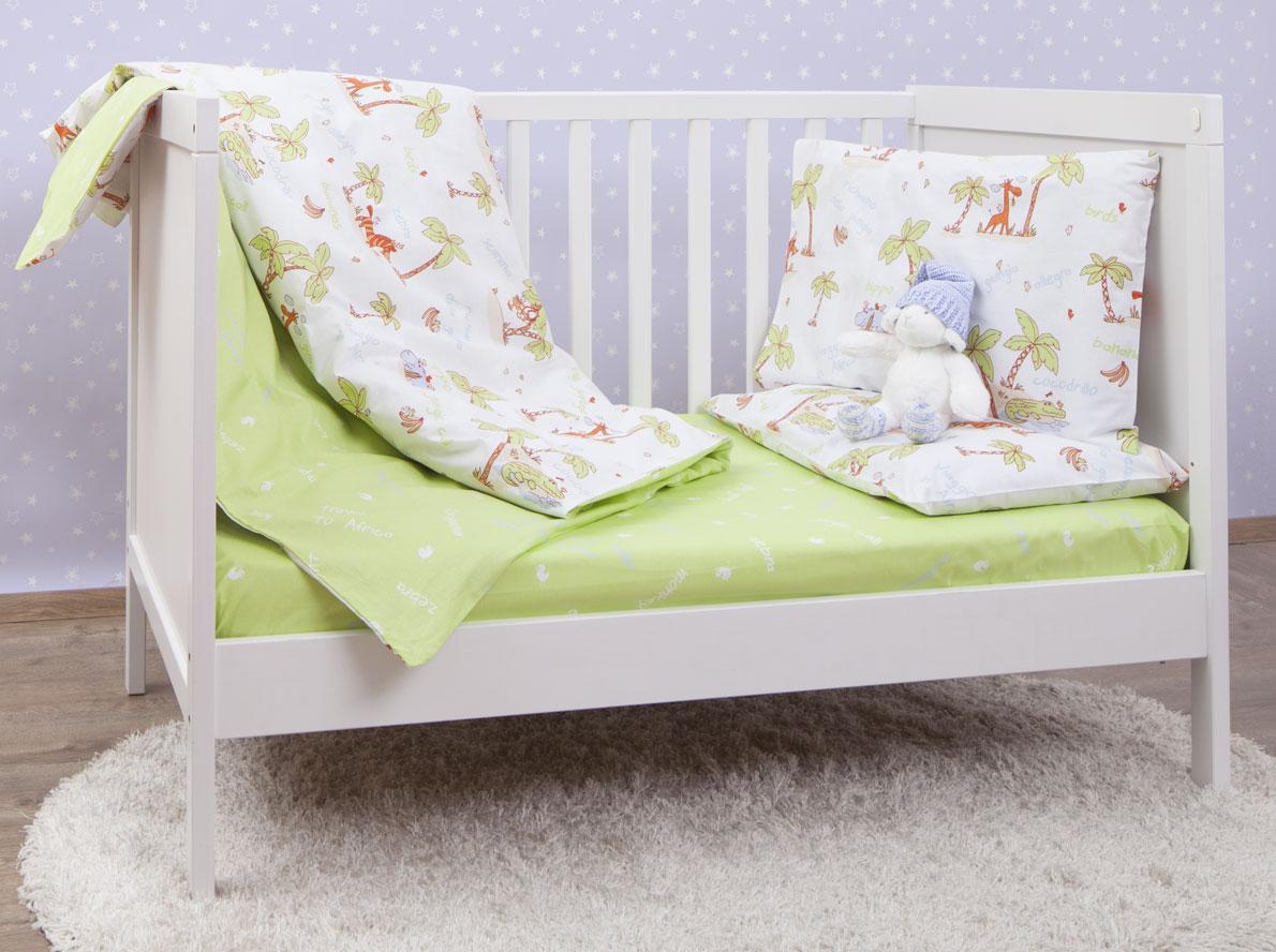 Mirarossi Комплект детского постельного белья Giungla Green
