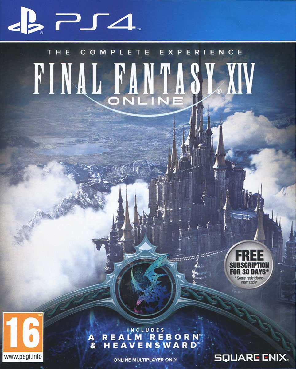 Final Fantasy XIV. Полное издание (A Realm Reborn + Heavensward) (PS4) final fantasy xii the zodiac age ограниченное издание steelbook ps4