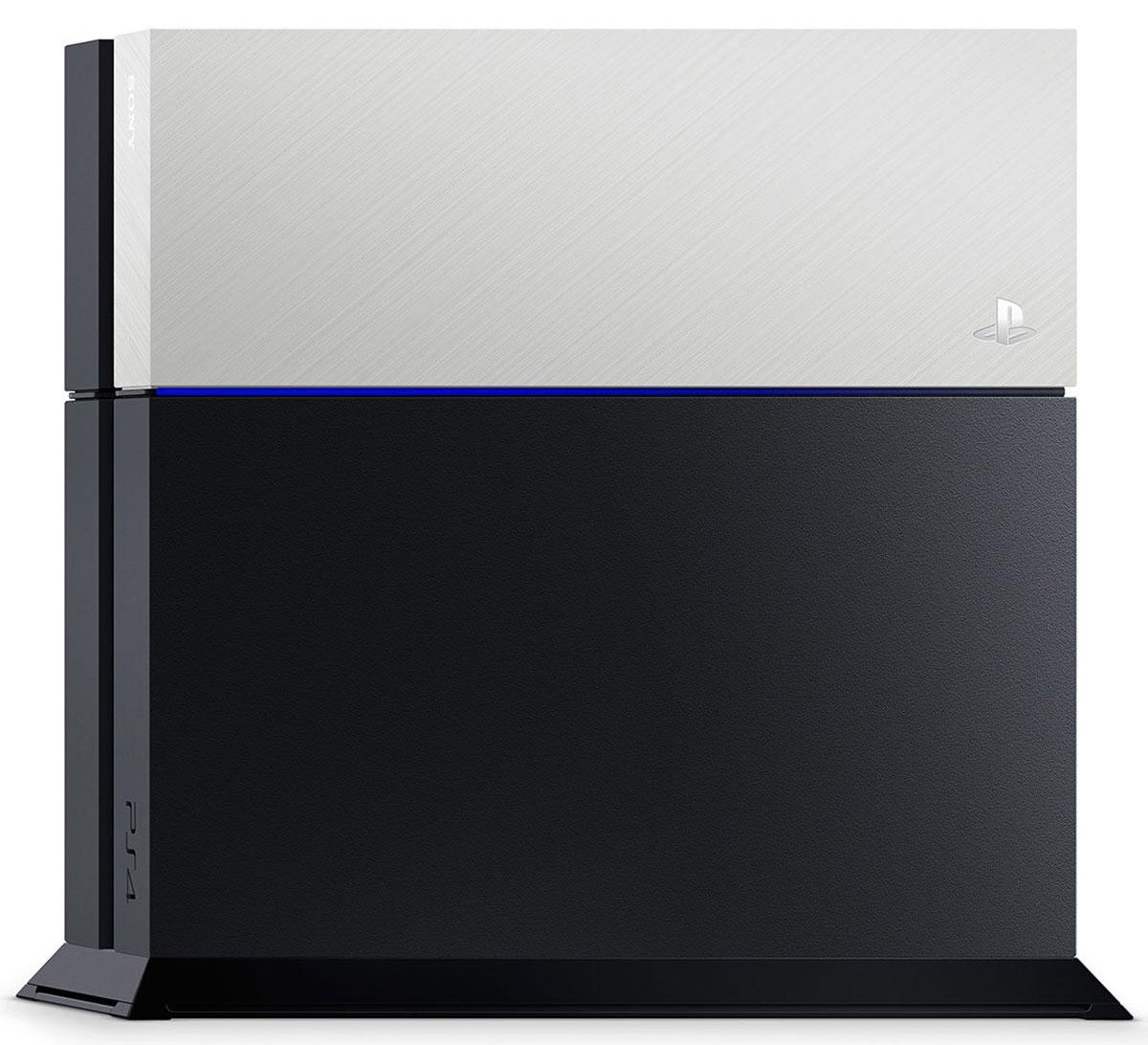 Дополнительная крышка для жесткого диска PS4 (серебряная) Sony