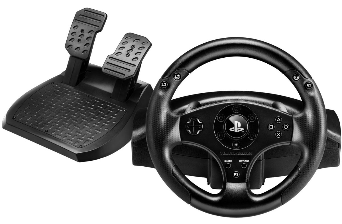 Thrustmaster T80 Racing Wheel, Black руль