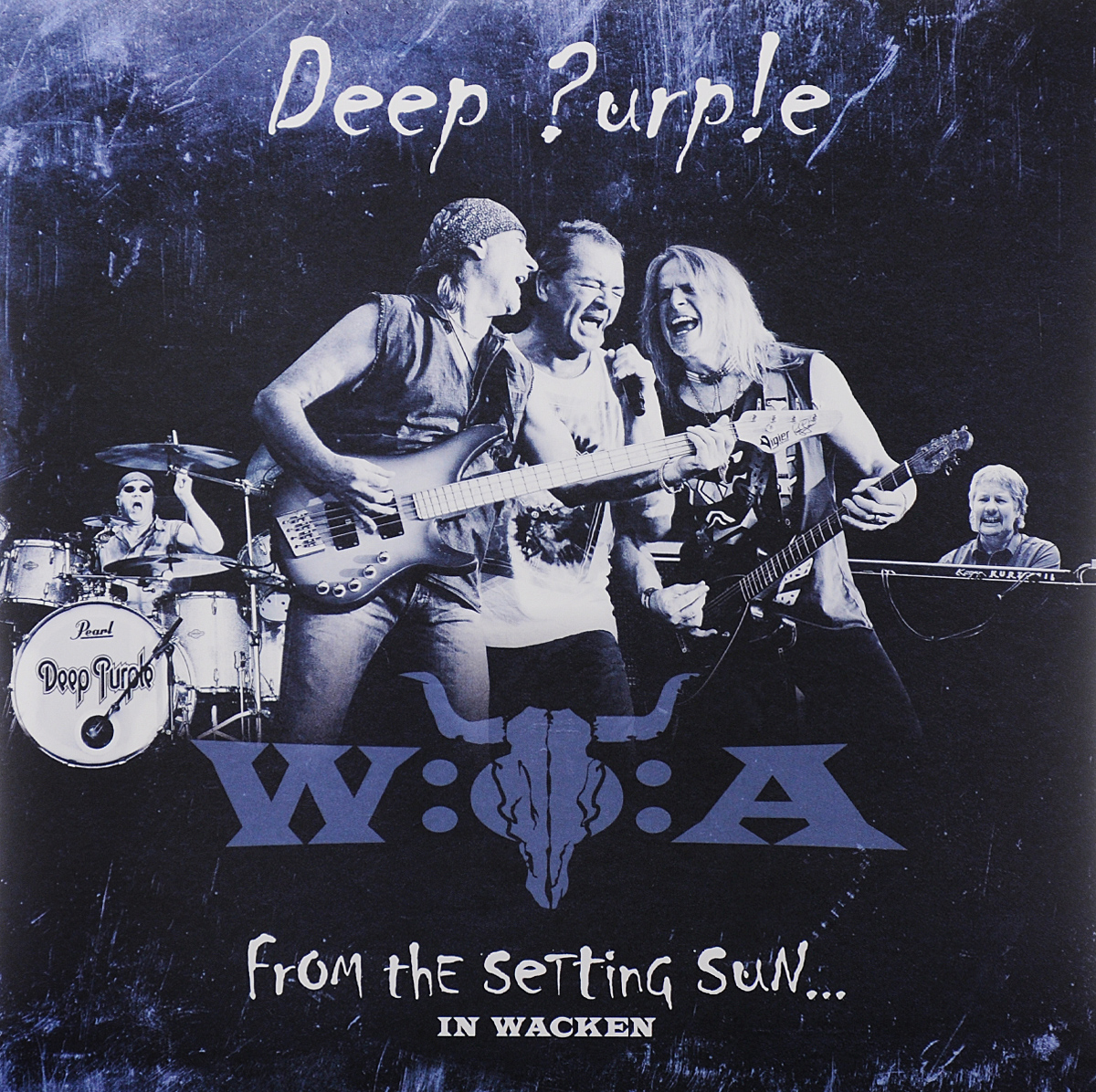 Deep Purple Deep Purple. From the Setting Sun... In Wacken (3 LP) deep purple deep purple the book of taliesyn lp
