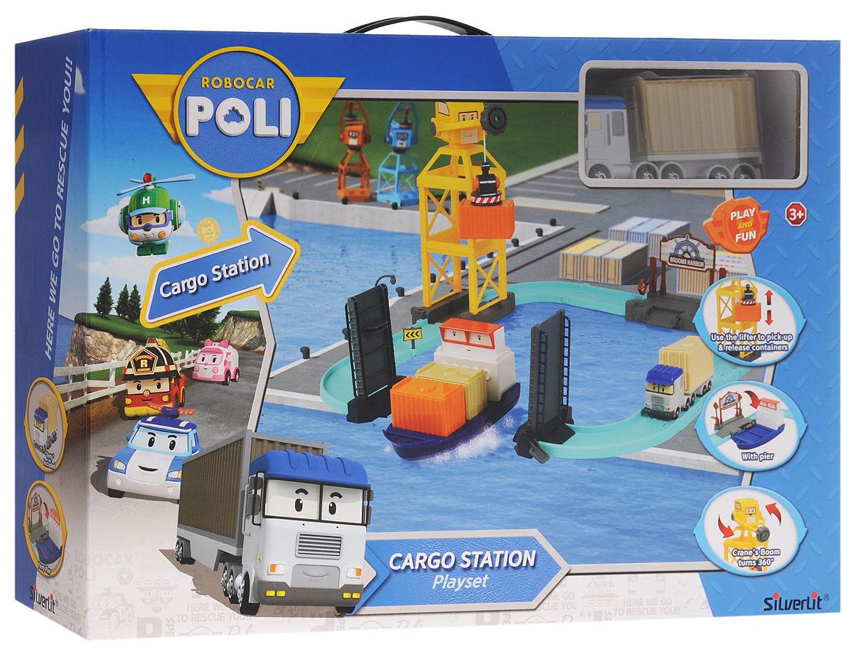 Robocar Poli Игровой набор Порт с разводным мостом robocar poli игровой набор перерабатывающая станция с фигуркой
