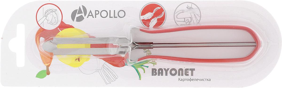 """Картофелечистка Apollo """"Bayonet"""", цвет: красный"""