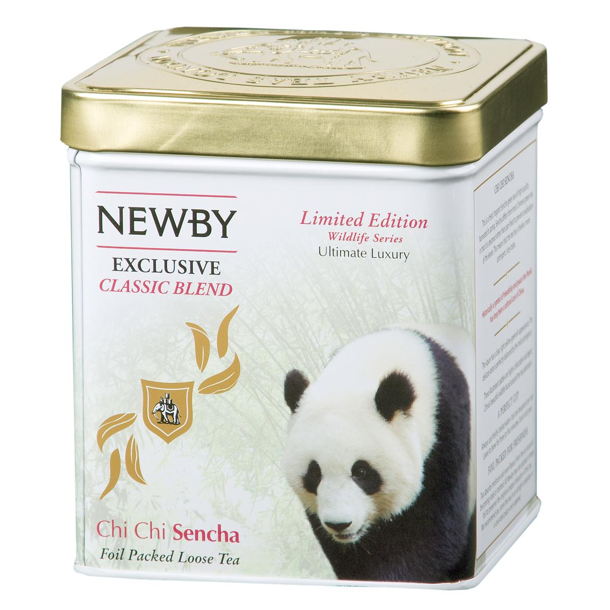 Newby Chi Chi Sencha зеленый листовой чай, 125 г цена в Москве и Питере