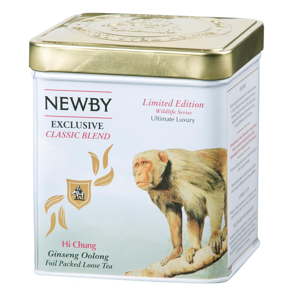 Newby Hi Chung зеленый листовой чай, 125 г цена в Москве и Питере