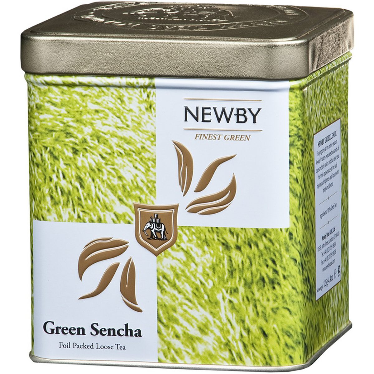 Newby Green Sencha Safari зеленый листовой чай, 125 г цена в Москве и Питере