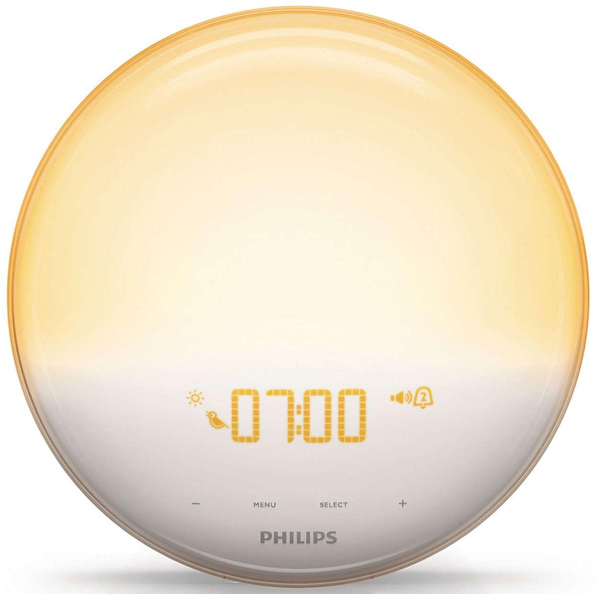 Световой будильник Philips HF3520/70 Wake-up Light philips aj3115 12 радио будильник