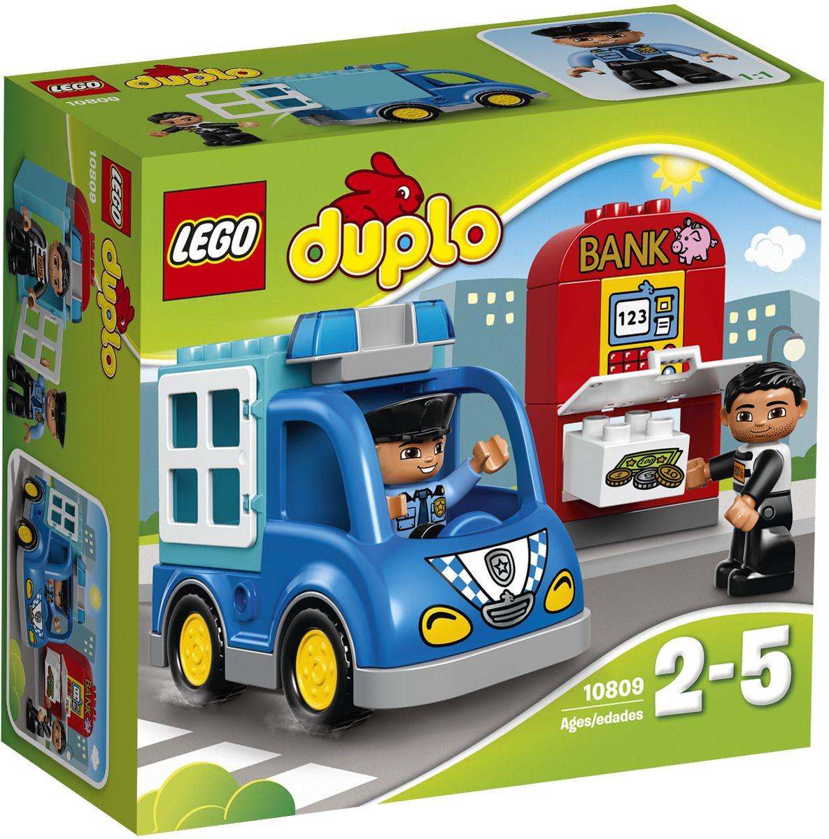 LEGO DUPLO 10809 Полицейский патруль Конструктор siku полицейский фургон