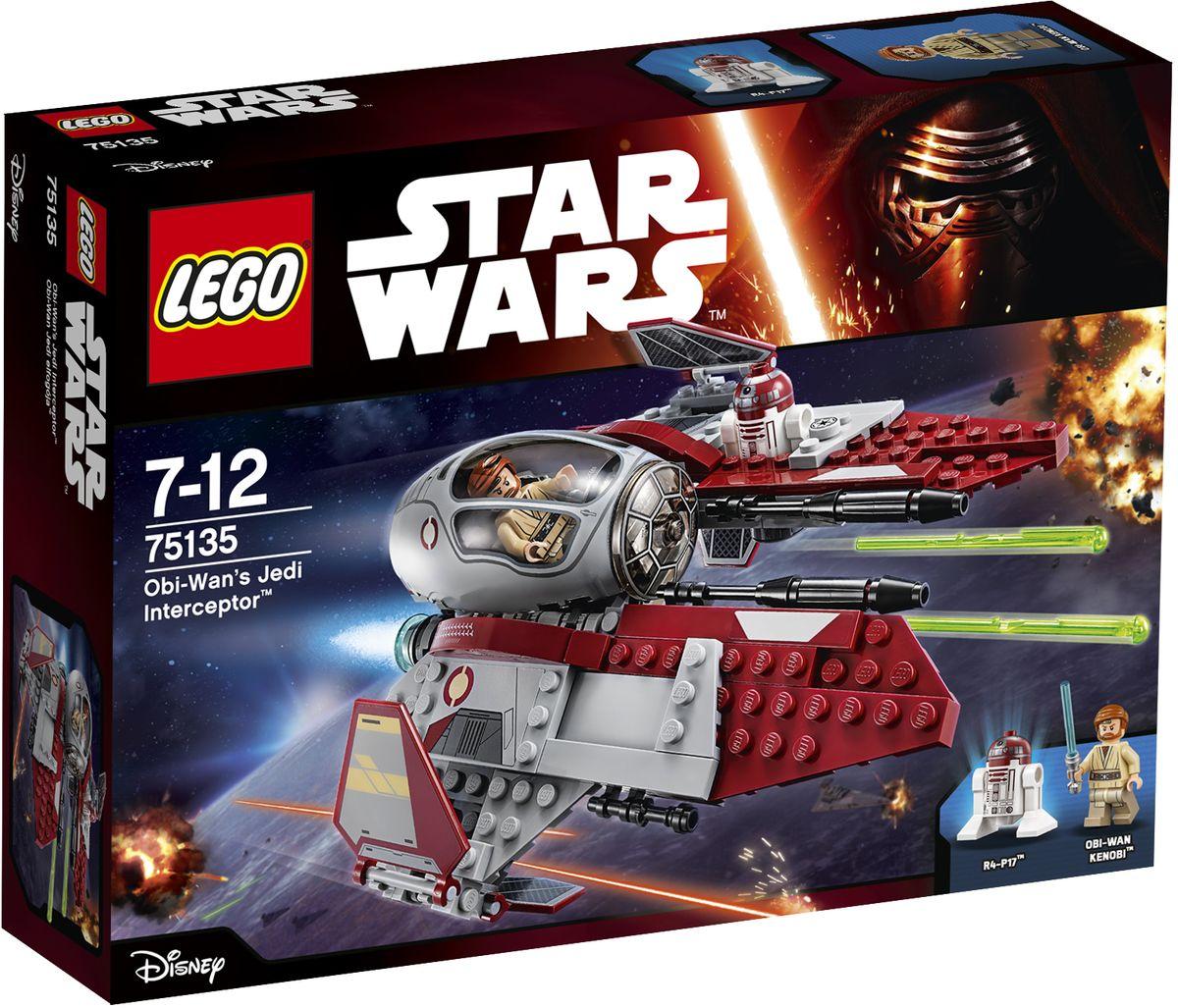 LEGO Star Wars Конструктор Перехватчик джедаев Оби-Вана Кеноби 75135