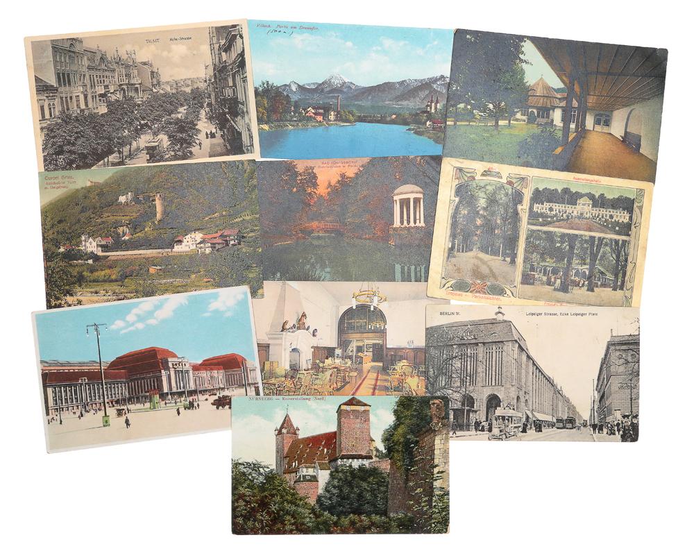 Калькой, открытка из германии