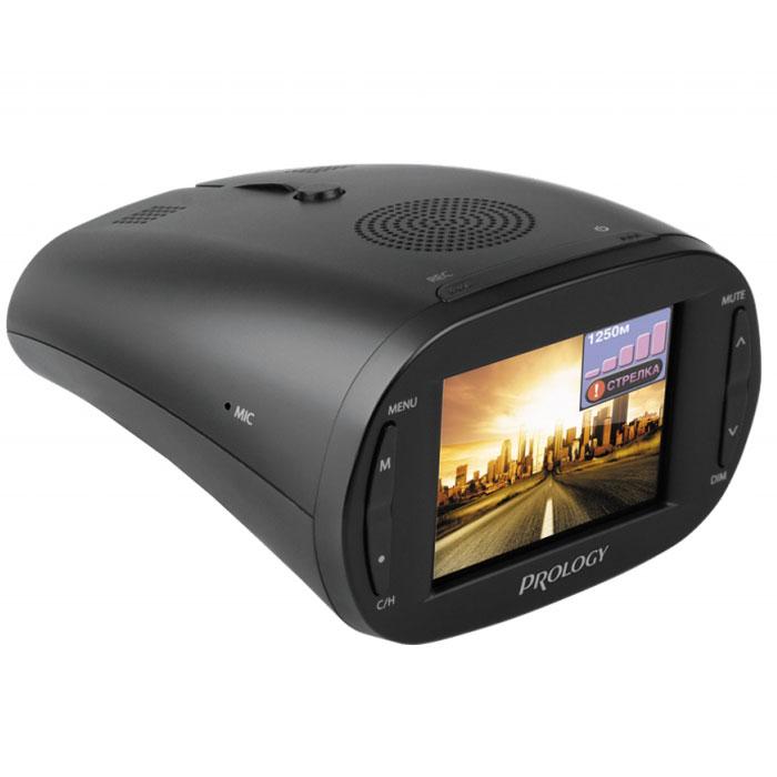 Prology iOne-1000 автомобильный видеорегистратор prology iscan 5030 graphite радар детектор