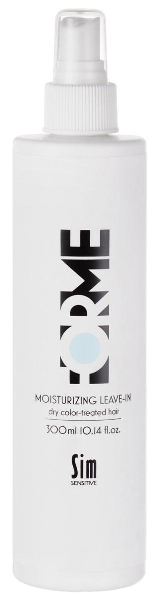 Sim Sensitive Спрей для волос Forme, увлажняющий, с экстрактом красного клевера, 300 мл шампунь 2 для сухих повреждённых окрашенных волос 215 мл sim sensitive system4