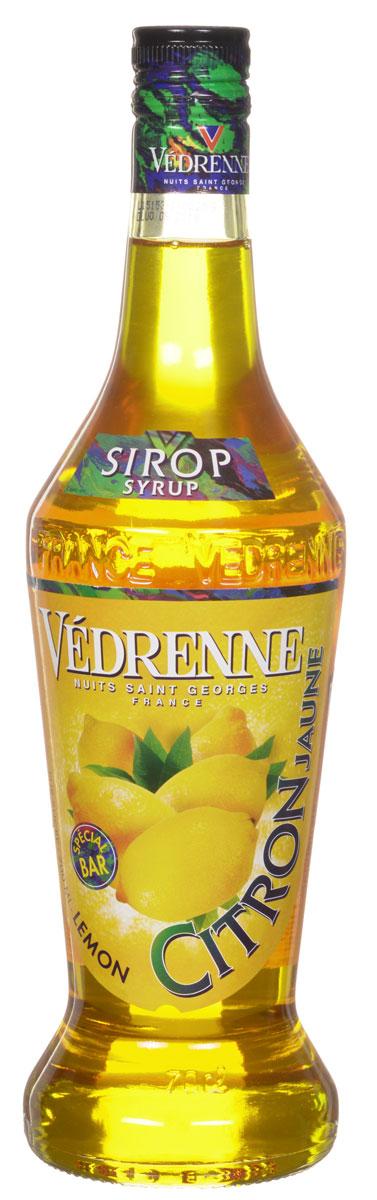 Vedrenne Лимон сироп, 0,7 л vedrenne арбуз сироп 0 7 л