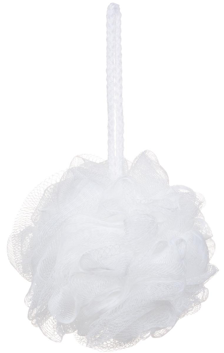 Riffi Мочалка-губка Массажный цветок, средняя, цвет: белый. 340340_белыйМочалка Riffi Массажный цветок не вызывает аллергии, обладает хорошими моющими и пилинговыми свойствами. Она дает много пены при малом количестве мыла или моющего геля. Для удобства применения снабжена веревочной петлей.Товар сертифицирован.
