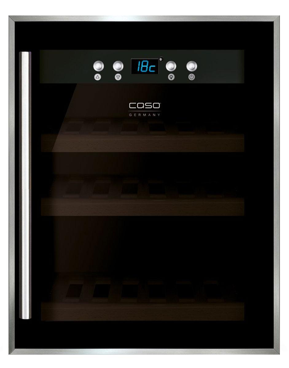 CASO WineSafe 12, Black винный шкаф