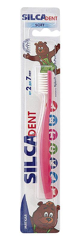Silca Dent Зубная щетка детская от 2 до 7 лет, в ассортименте недорого