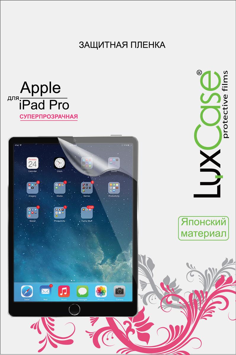 LuxCase защитная пленка для Apple iPad Pro, суперпрозрачная luxcase glass для apple ipad pro 12 9 2018