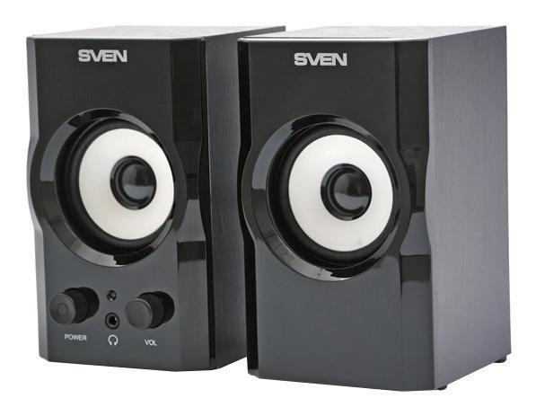 Компьютерная акустика Sven SPS-605, Black 2.0