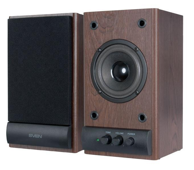 Sven SPS-607, Dark Wood акустическая система 2.0