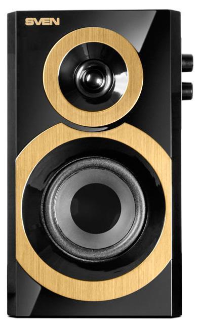 Sven SPS-619 GOLD, Black акустическая система 2.0