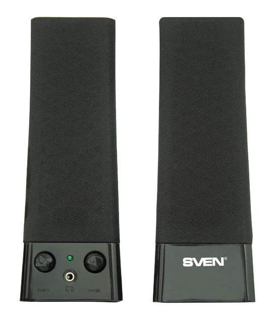 Компьютерная акустика Sven 235, Black 2.0 цена и фото