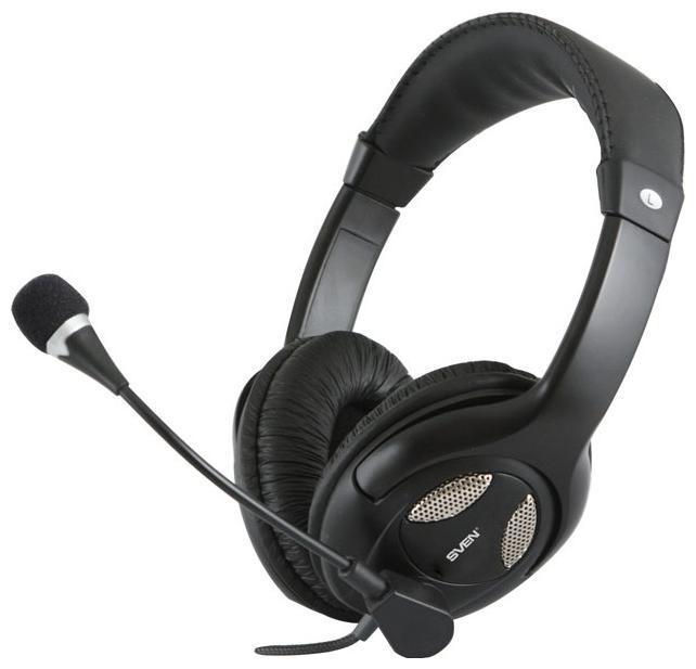 Sven AP-670MV, Black наушники с микрофоном
