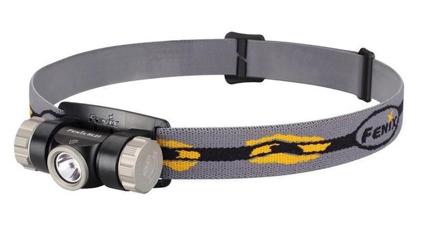 Фонарь налобный Fenix HL23, цвет: серый usb перезаряжаемый высокой яркости ударопрочный фонарик дальнего света конвой sos факел мощный самозащита 18650 батареи