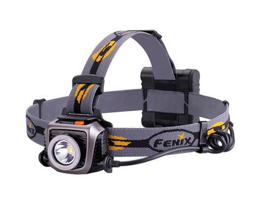 Фонарь налобный Fenix HP15 UE серый nitecore mh10 1000 lumens cree xm l2 u2 led flashlight throw 232 meters waterproof light flashlight by 18650 battery