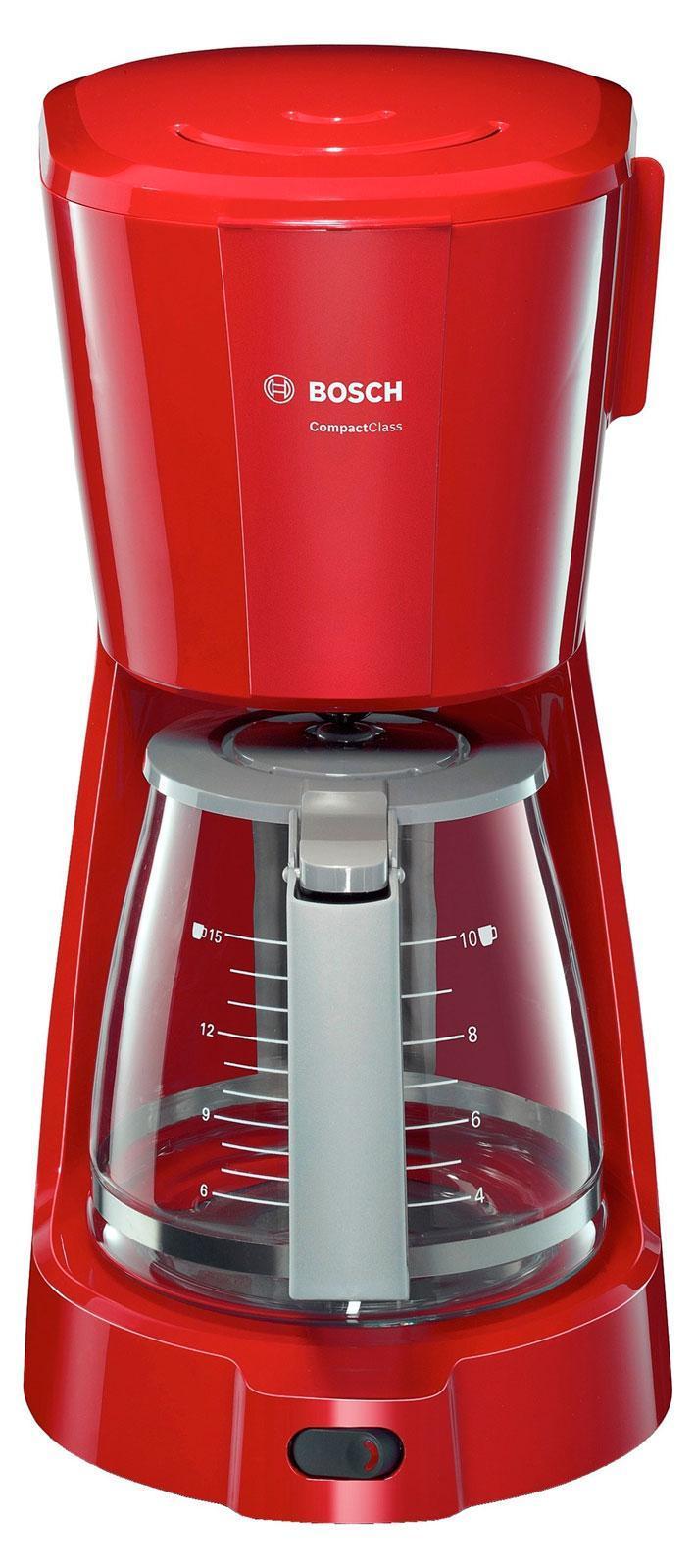 Кофеварка капельная Bosch TKA 3A034 Compact Class, Red