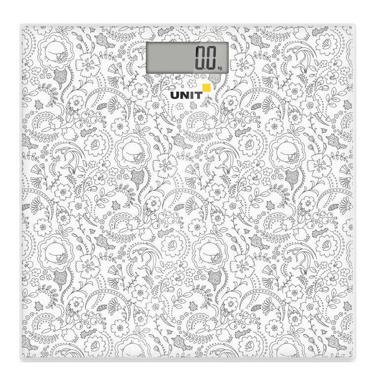 Напольные весы Unit UBS-2052, Pale Grey весы кухонные unit ubs 2155 светло серый