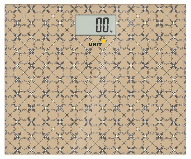 Напольные весы Unit UBS-2080, Beige