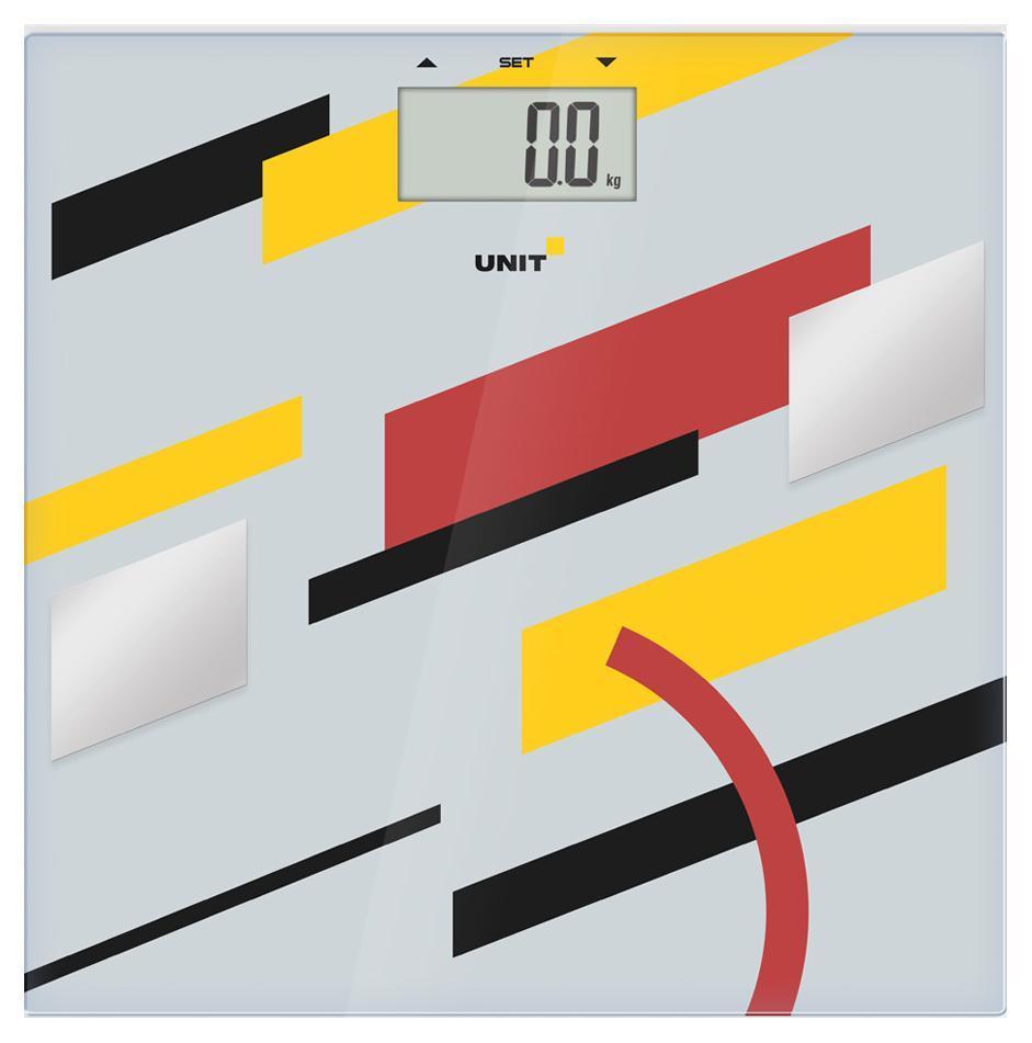 Напольные весы Unit UBS-2200, Pale Grey цена и фото