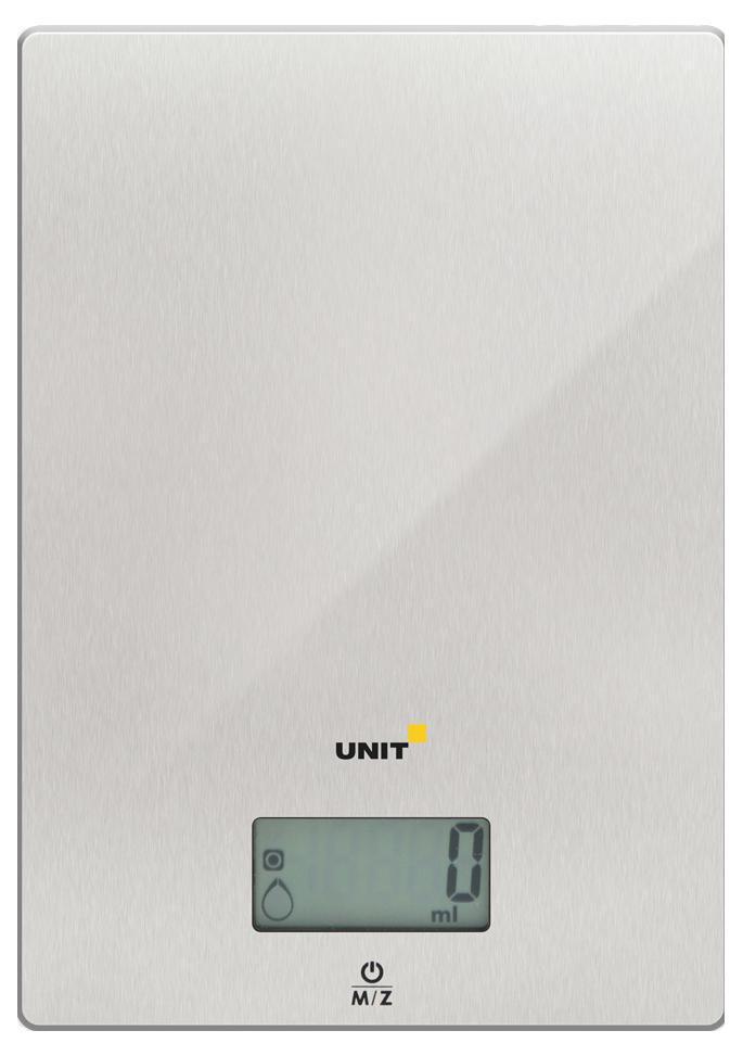 Unit UBS-2152, Steel весы кухонные