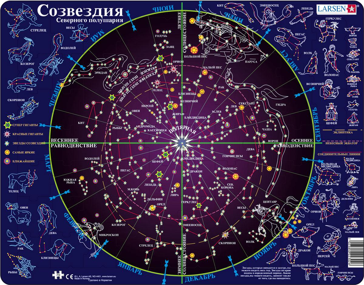 его словам, картинка звездного неба с созвездиями легко проверить первого