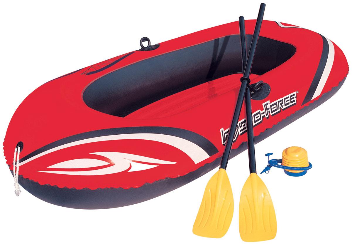 Bestway Надувная лодка, с вёслами и насосом, 188 х 98 см. 61062