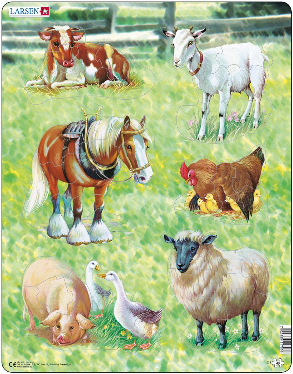 Larsen Пазл Домашние животные