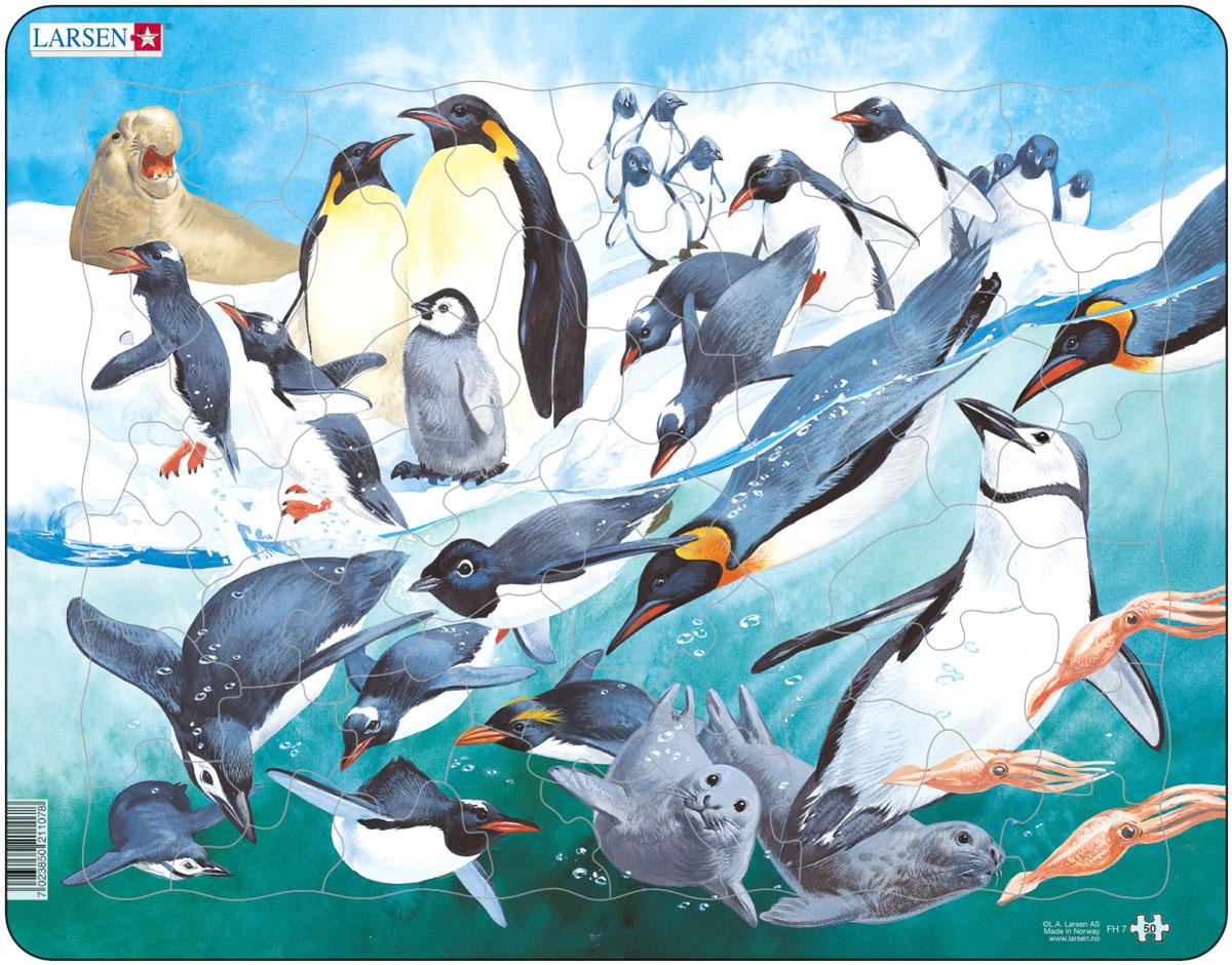Larsen Пазл Пингвины