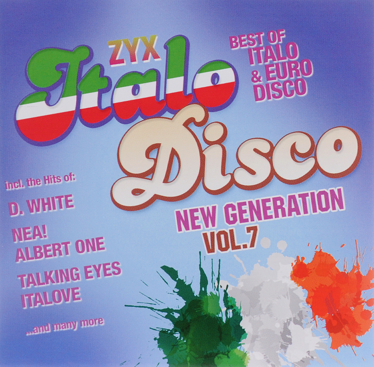 Zyx Italo Disco New Generation Vol. 7 (2 CD)